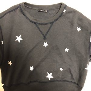 Cropped Star Sweater